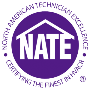 Mountain View Heating Technicians are NATE Certified